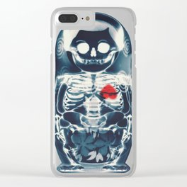 Nesting Doll X-Ray Clear iPhone Case