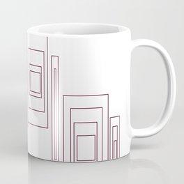 Chic design blocks, white Coffee Mug