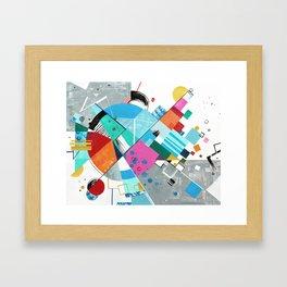 Compression Breakthrough Framed Art Print