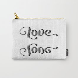 LOVE SONG ambigram Carry-All Pouch