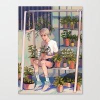 plants Canvas Prints featuring plants by KEL H