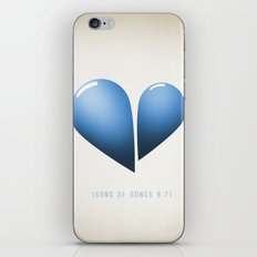 Song of Songs 8:7 iPhone & iPod Skin