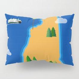 New Hampshire Island Pillow Sham