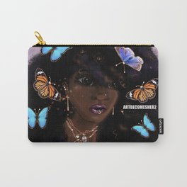 And She Had Butterflies in Her Hair Carry-All Pouch