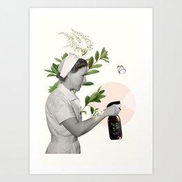 Virus killer Art Print