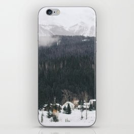 Alpine Village iPhone Skin