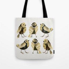 24-Karat Goldfinches Tote Bag
