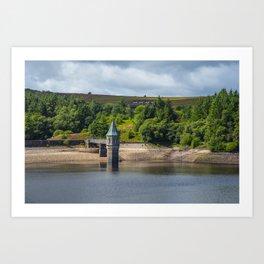 Pontsticill Reservoir August 2018 Art Print