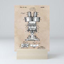 patent art Sabel Binocular Microscope 1926 Mini Art Print
