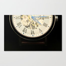 vintage time Canvas Print