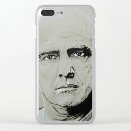 Marlon Brando Clear iPhone Case