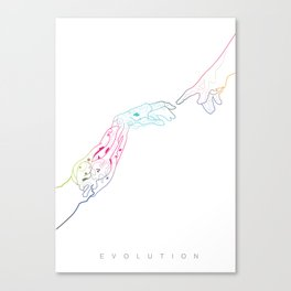 The Next Stage Of Evolution Canvas Print