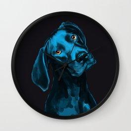 The Dogs: Riley B. Wall Clock