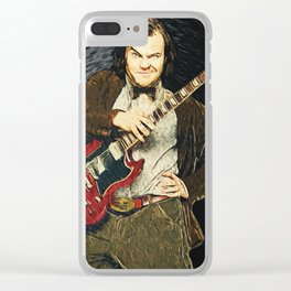 Jack Black Clear iPhone Case