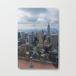 Top Of The Rock Metal Print