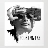 Putin Art Print
