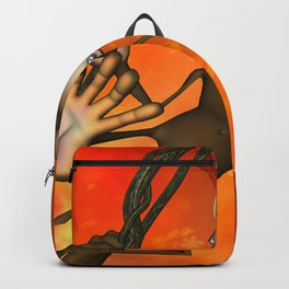 Happy monkey Backpack