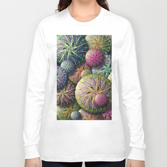 Button Up Long Sleeve T-shirt