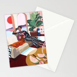 Tiger Queen Stationery Cards