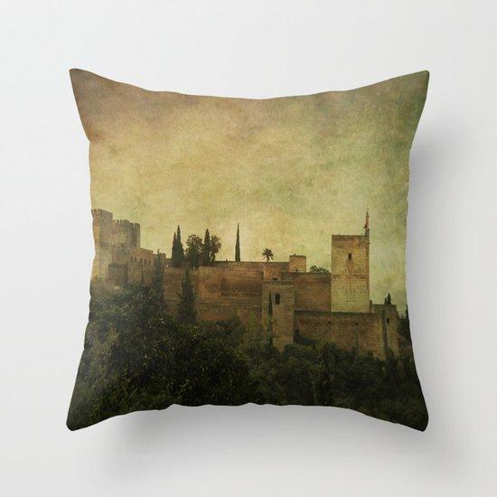 Alhambra 2 Throw Pillow