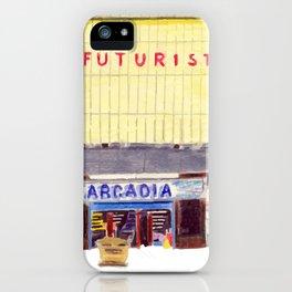THE FUTURIST iPhone Case