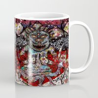 cosmic Mugs featuring Cosmic by PSYCHOREN
