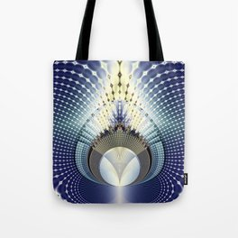 Fractal Abstract 9 Tote Bag