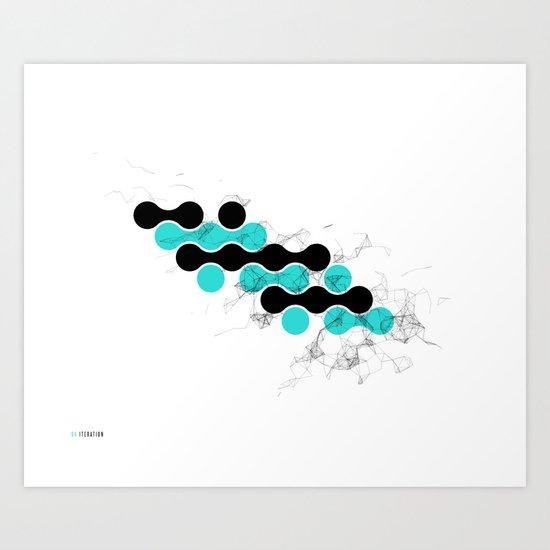 04: Iteration Art Print