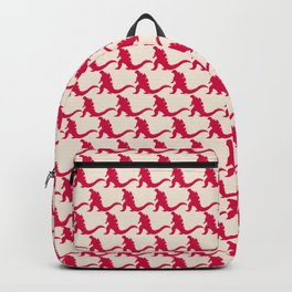 godzilla pattern Backpack