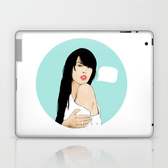 MARIA MENA Laptop & iPad Skin