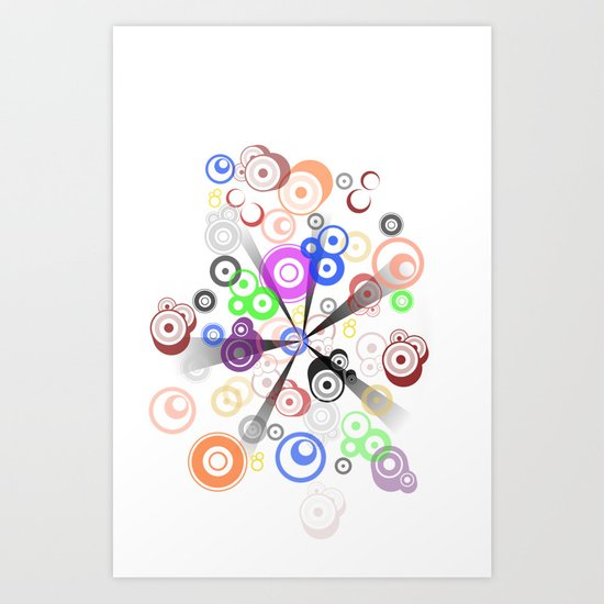 PUNTO Art Print