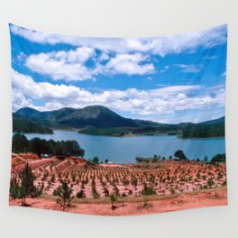 Magic Lake of Central Highland in Vietnam Wall Tapestry