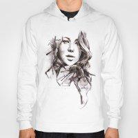 jennifer lawrence Hoodies featuring Jennifer Lawrence by dariemkova