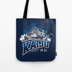 Pacific Breach Kaiju Tote Bag
