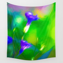 Mexican Petunias Wall Tapestry