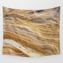 Sandy Strata Wall Tapestry