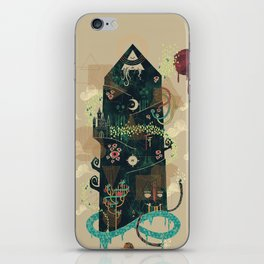 The Ominous and Ghastly Mont Noir iPhone Skin