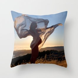 The Dawning of a New Life Throw Pillow