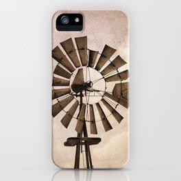 Iowa Windmill iPhone Case