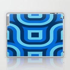 Blue Truchet Pattern Laptop & iPad Skin