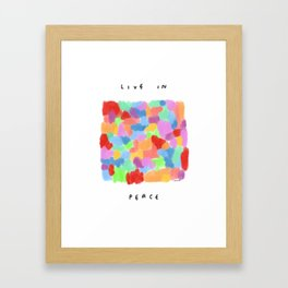 Numerous Colors in This World no.3 Framed Art Print
