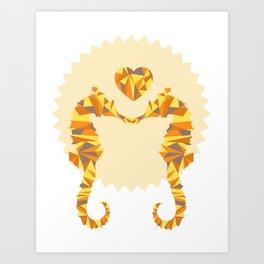 Seahorse Lovers Art Print