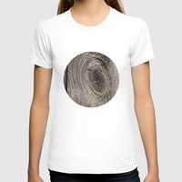 wood T-shirts featuring Wood by Ginta Spate
