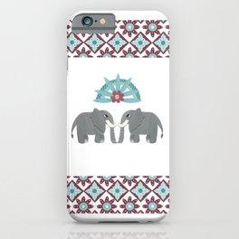 Elephant Honeymoon iPhone Case
