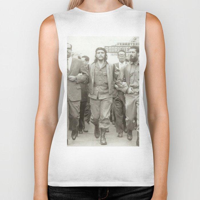 Che Guevara, Fidel Castro and Revolutionaries Biker Tank