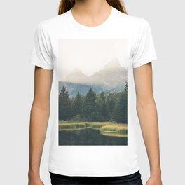 Morning at the lake T-shirt