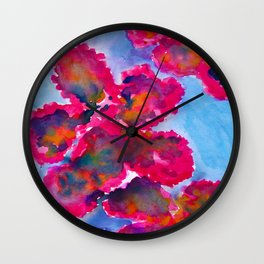 Caribbean Flush Wall Clock