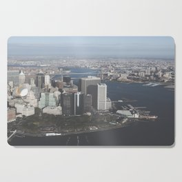 NYC Downtown Aerial Cutting Board