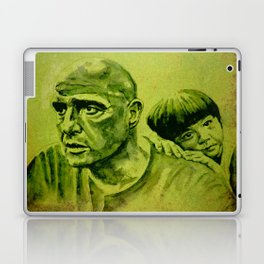 Marlon Brando and the girl Laptop & iPad Skin