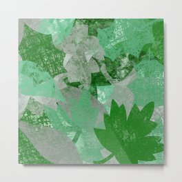 Spring Leaves Metal Print